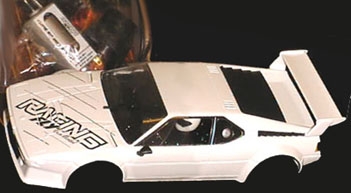 Fly 88335 BMW M1, Racing, white, KIT