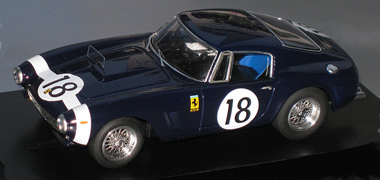 Proto Slot GM015/2PDB Ferrari 250SWB LM 61, dark blue, KIT