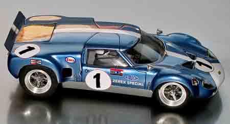 GM019-1 Lola GT, Team Mecom, RTR car race #1