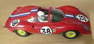 GMCS05/01 Ferrari Dino Spyder NART LeMans 1966 RTR