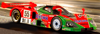 LeMans Miniatures 132026 Mazda 787B 1991 LeMans winner