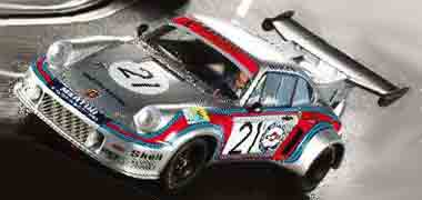 LeMans Miniatures 132042/21 Porsche Turbo RSR, LeMans 1974