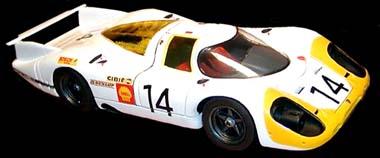 LeMans Miniatures 132031/14M Porsche 917 1969