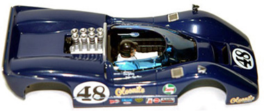 Monogram M5154 Body for McLaren M6B # 48 Dan Gurney