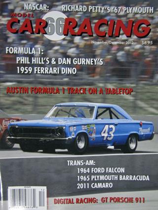MCR66 Model Car Racing Magazine, November/December 2012