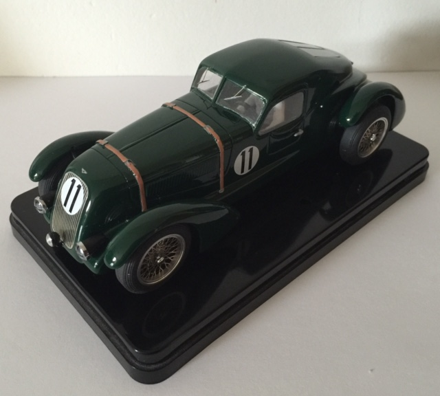 1900 Replica Kit Makes Bentley: MMK72PBK Bentley TT Coupe 1950 LeMans Number 11, PAINTED