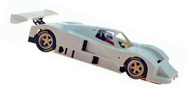 MRSlotcar MR1001 Mazda 787B white kit