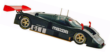 MRSlotcar MR1002 Mazda 787B test car