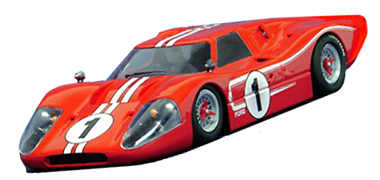 NSR 04-#1 Ford MkIV 1967 LeMans winner