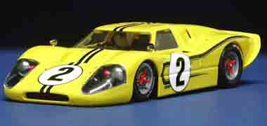 NSR 1054 Ford MkIV, yellow, LeMans 1967