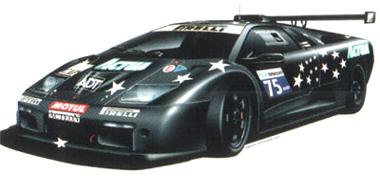 "Ninco 55014 Lamborghini Diablo ""Actua"""