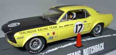Pioneer P009 67 Mustang, Jerry Titus