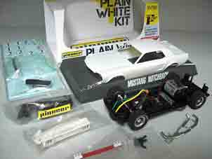 Pioneer PWK1 1968 Mustang notchback plain white kit