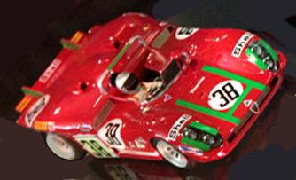 Racer RCR53B Alfa Romeo 33/3, LeMans 1970 #38