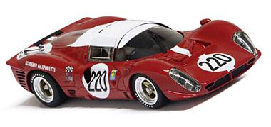 Racer RCR-G2 Ferrari 412P, Targa Florio 1967