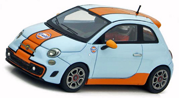 Racer SLE02 Abarth 500 Gulf, limited edition