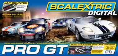 Scalextric C1260T Digital Pro GT race set