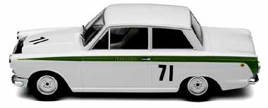 Scalextric C2913 Ford Lotus Cortina, Jim Clark