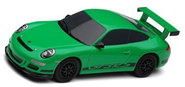 Scalextric C3074 Porsche 997, green, super-resistant