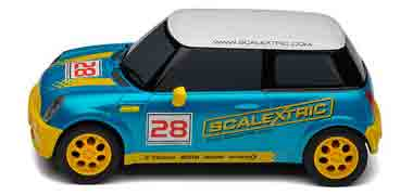 Scalextric C3073 BMW Mini, Scalextric logo