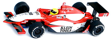 Scalextric C2650 Dallara IRL Dan Wheldon 2005 Indy 500 winner