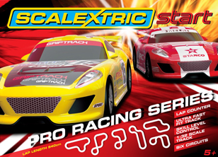 Scalextric C1271T Start Pro Racing Series race set