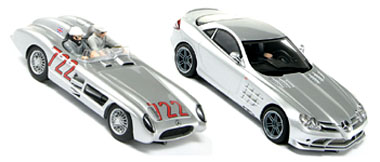 Scalextric C2783A Mercedes SLR twin pack