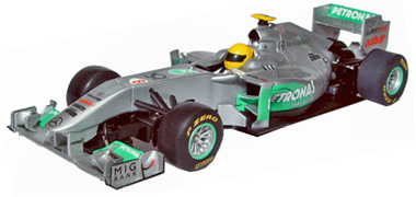 Scalextric C3168 Mercedes GP Petronas 2011