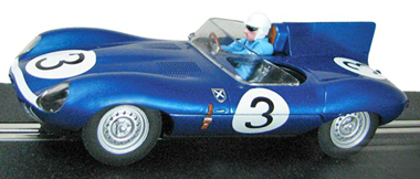 Scalextric C3205 Jaguar D-type, 1957 LeMans winner