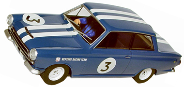 Scalextric C3210 Ford Lotus Cortina, blue