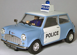 Scalextric C3213 Classic Mini police car