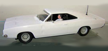 Scalextric C3223 Dodge Charger R/T, plain white - $42.99
