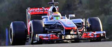 Scalextric C3266 McLaren F1 2012, L. Hamilton