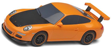Scalextric C3274 Porsche 997 road car, orange