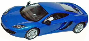 Scalextric C3297 McLaren Mp4-12C, azure blue