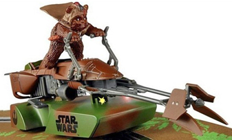 Scalextric C3299 Speeder Bike, Ewok.