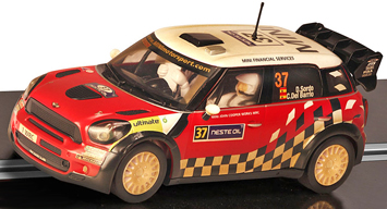 Scalextric C3301 BMW Mini Rally D'Italia 2011