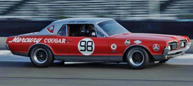 Scalextric C3418 Mercury Cougar, Dan Gurney, 1967 TransAm Series