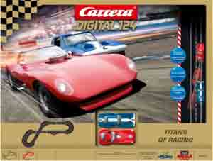 Carrera 23607 Titans of Racing set, Digital 124