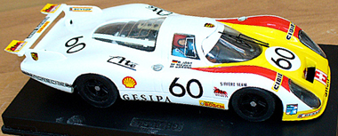 Proto Slot CB025P Porsche 908 LH PAINTED BODY KIT, LeMans 1972 ...