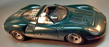 PSK010/1 Jaguar XJ13, green,RTR car -