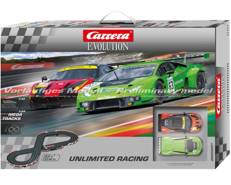 carrera 25221 unlimited racing race set 25221. Black Bedroom Furniture Sets. Home Design Ideas