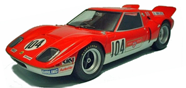 Proto Slot GM022P Lotus Europa 1982, red. KIT