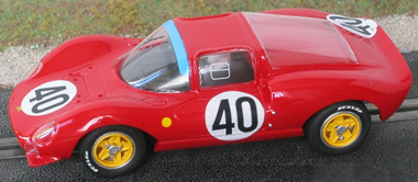 GMC13/1 Ferrari Dino 166P LeMans 1965 painted body kit