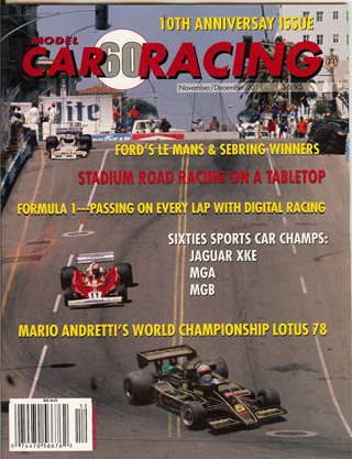MCR60 Model Car Racing Magazine, November/December 2011