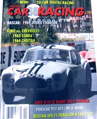 MCR68 Model Car Racing Magazine, March-April 2013