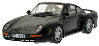MSC 6023 Porsche 959 road car, black