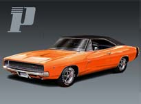 "Pioneer P005 Dodge Charger ""Bengal Tiger"""