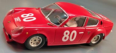 PSK 009/1 Abarth Simca 200TC. red