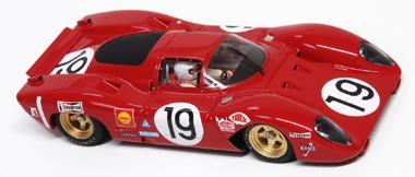 Racer RCR38B Ferrari 312P #19. LeMans 1969